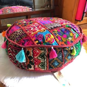 Accents - NWT TWO MOROCCAN STYLE TEXTURED FLOOR PILLOWS